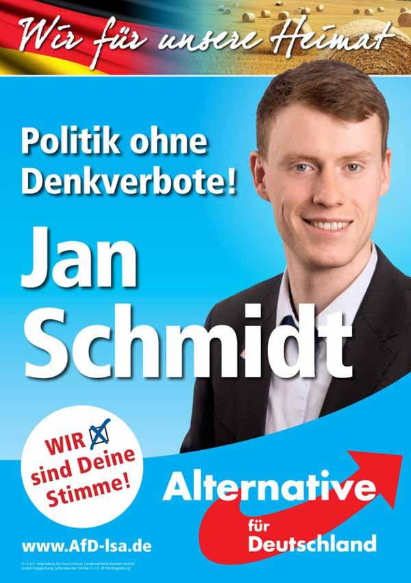 Politik ohne Denkverbote fordert die Alternative für Deutschland AfD #Date:03.2016#