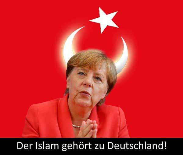 Merkel und ihre toxische Politik, dass der Islam zu Deutschland gehört #Date:03.2016#