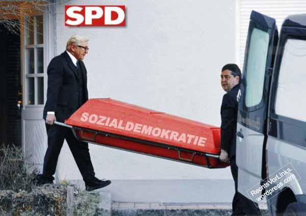 Hier wird die SPD zu Grabe getragen. Steinmeier und Gabriel beerdigen die Sozialdemokratie #Date:03.2016#