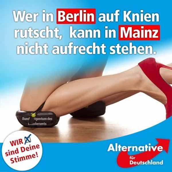 Parteien, die in Berlin versagen, können auch in den Bundesländern nichts leisten #Date:03.2016#