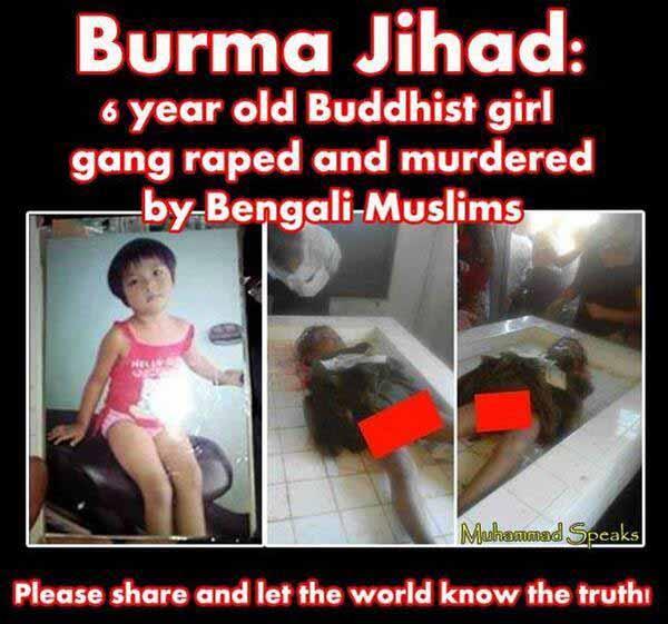 Sechsjähriges Mädchen von bengalischen Moslems massenvergewaltigt und ermordet. #Date:12.2015#