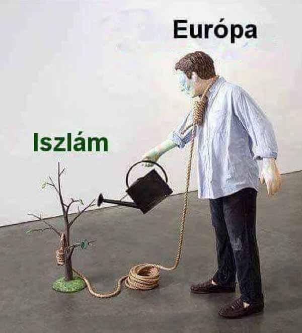 Die Europäer machen den Islam groß, der sie später auslöschen wird. #Date:#