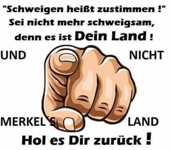 Hole dir Deutschland zurück und gehe wählen. Merkel muss weg #Date:03.2016#