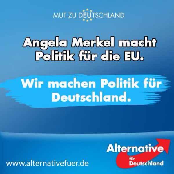 Wir machen Politik für Deutschland. In erster Linie. Dann kommt alles andere #Date:03.2016#