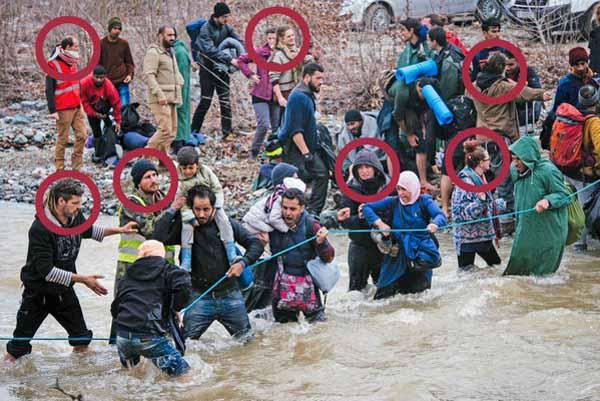 Das schmutzige Spiel von Idomeni. Deutsche Lügenpresse und ausländische Aktivisten im Einsatz #Date:03.2016#