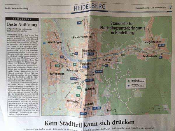 So werden deutsche Städte systematisch mit Asylanten zweifelhafter Herkunft geflutet!  #Date:01.2016#