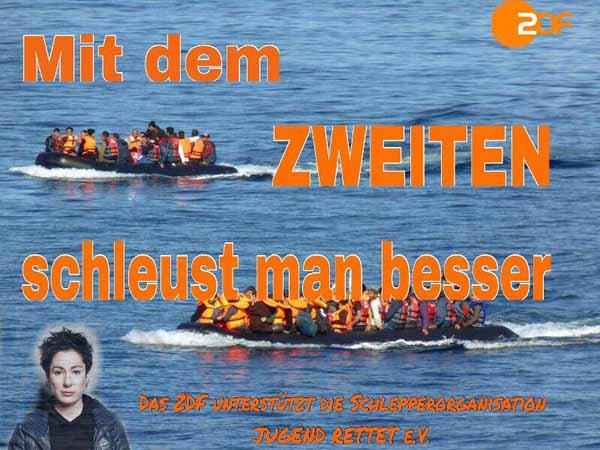 ZDF unterstützt Schleuserorganisation #Date:03.2016#