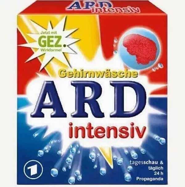 ARD – nur noch linientreue Regierungspropaganda.  #Date:03.2016#