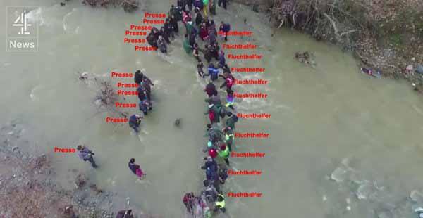 Die Lüge von Idomeni. Eine einzige Propaganda-Show. Und alle fallen darauf rein, wie Handgrante in Villingen, Toter im Lageso. #Date:03.2016#