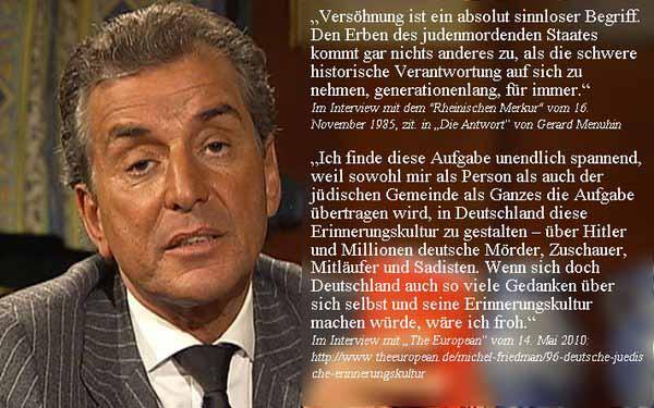 Anti-Deutscher Maulheld Michel Friedmann #Date:03.2016#