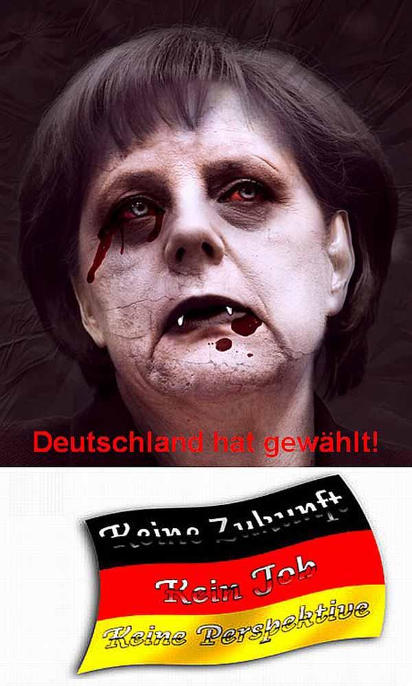 Vom deutschen Souverän gewählt, von Mitläufern mit deutschem Blut versorgt #Date:03.2016#