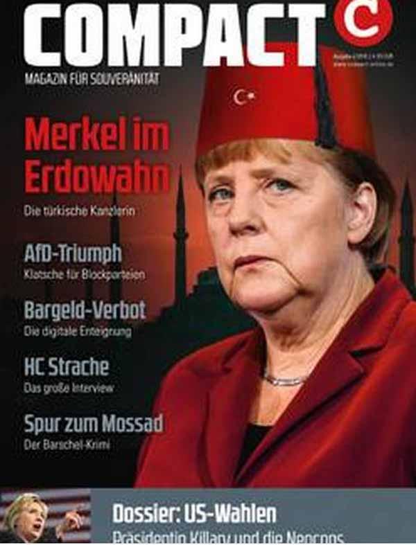 Merkel im Erdowahn. Verrat an Deutschland und Europa #Date:03.2016#