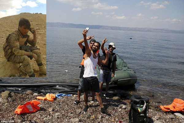 Es gibt solche und solche Syrer. Die einen verteidigen ihr Land, die anderen sind Flucht-Touristen und machen Selfies. #Date:03.2016#