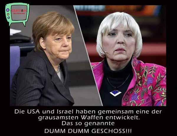 Die USA und Israel haben gemeinsam eine der grausamsten Waffen entwickelt. Das sogenannte DUMM-DUMM Geschoss. #Date:03.2016#
