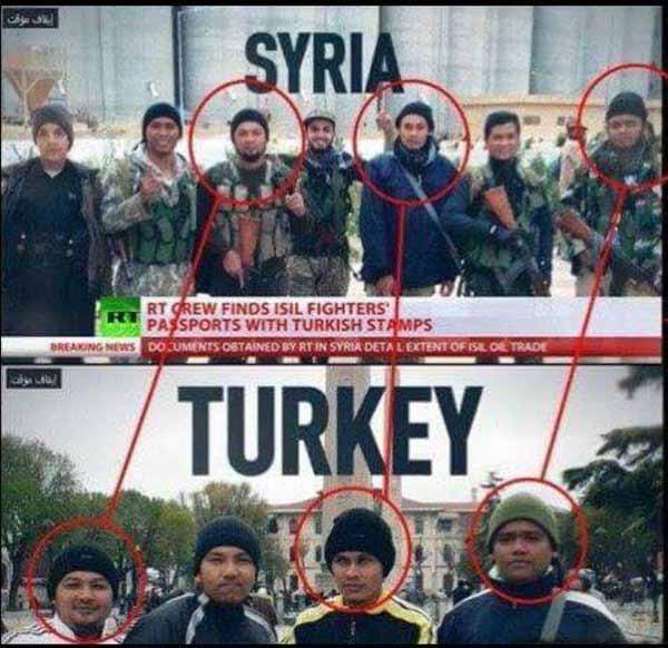 Terror Mikado Syrien – Türkei. Erst IS in Syrien, dass die perfekten Refugees in der EU. Merkel sei Dank, #Date:04.2016#