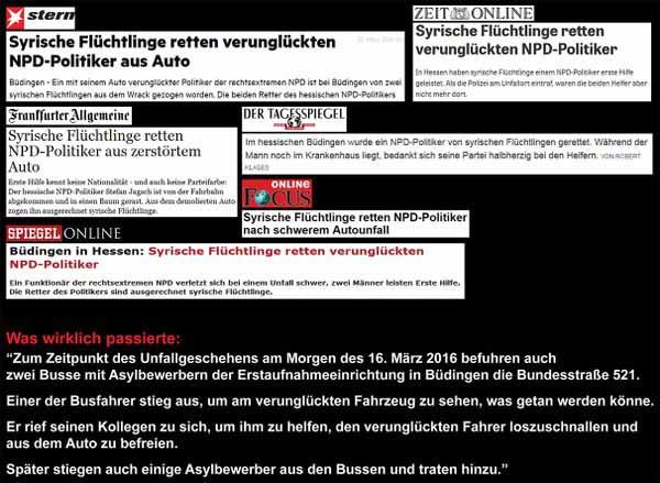 Die Lügenpresse verarscht die Leser noch immer nach Strich und Faden. #Date:04.2016#