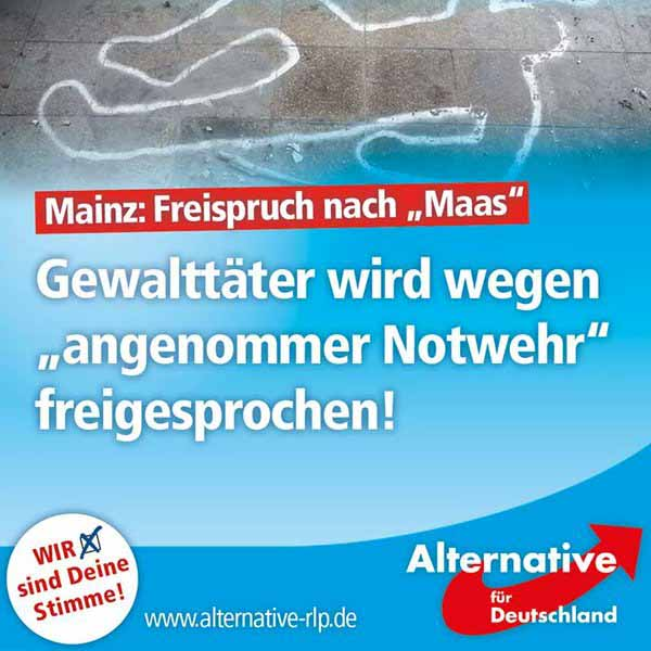 Freispruch ganz nach dem Geschmack von Wahrheitsminister Maas. Gewalttäter wird wegen ANGENOMMENER Notwehr freigesprochen #Date:04.2016#